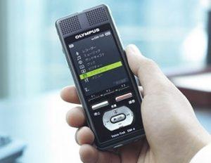 registratore vocale Olympus