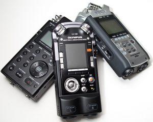 registratore vocale professionale